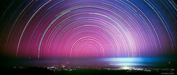 Наблюдение звезды здесь облегчается отсутствием физических преград над морем.