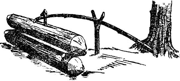 """""""Удочка"""" здесь нужна для удержания верхней колоды строго над нижней."""