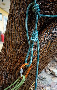 Какая бы нагрузка ни была приложена к этому узлу, его легко будет развязать.
