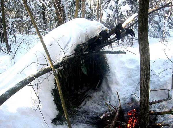 Как правило, в густом лесу ветрозаслон не требуется, поскольку движущиеся воздушные массы эффективно тормозятся деревьями.