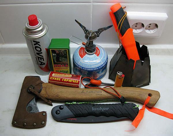 В зависимости от условий похода те или иные элементы оборудования можно оставить дома, существенно облегчив рюкзак.