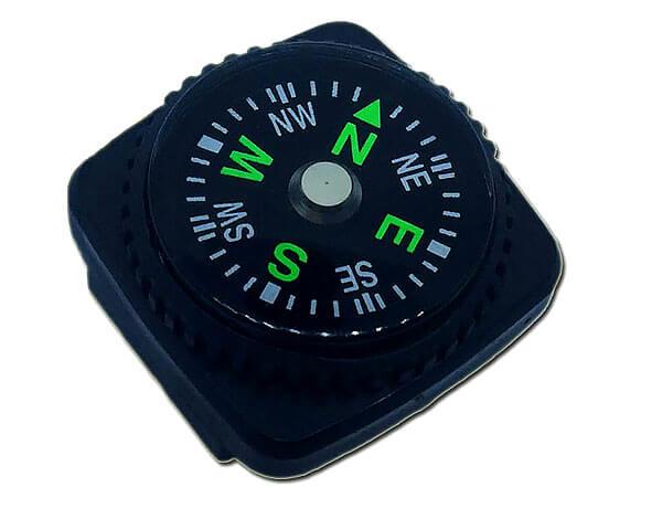 Фактически, такой компас даже не позволяет вычислить азимут с точностью до градуса.