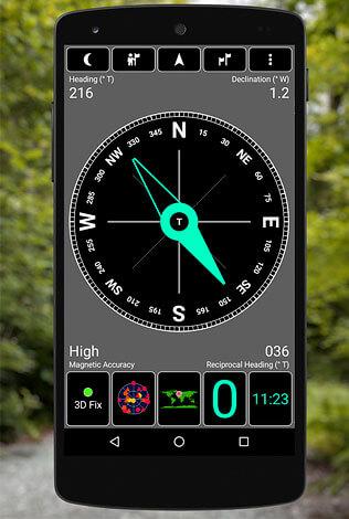 Тем не менее, программы с полноценной навигацией более практичны, чем простые приложения - симуляторы компаса.